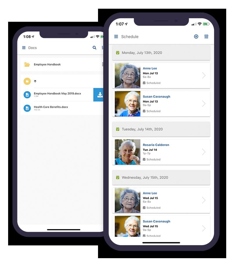 Caregiver Management - Smartcare Software