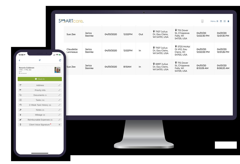 SMARTcare Software - Mobile App