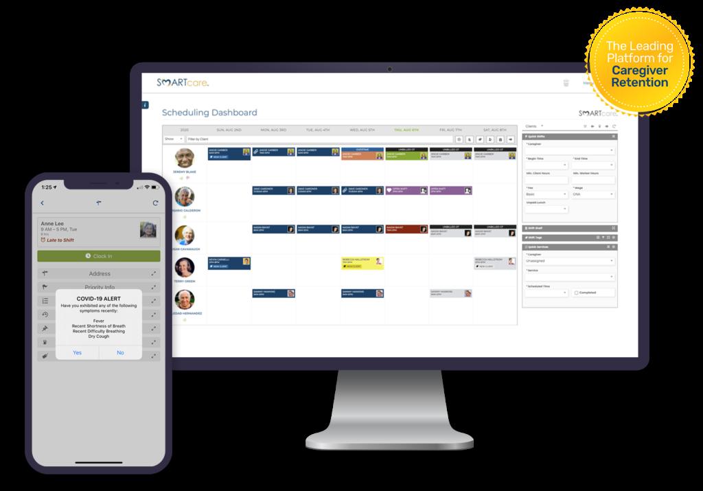 SMARTcare Software - Leading Caregiver Retention Platform