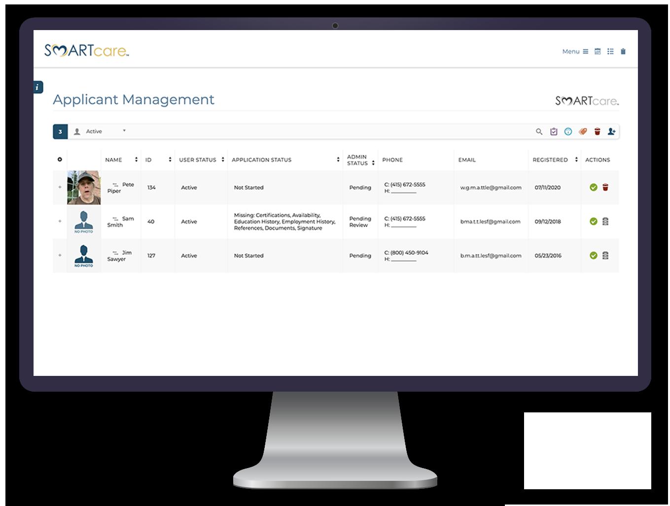 HR & Recruiters Management Software - SMARTcare