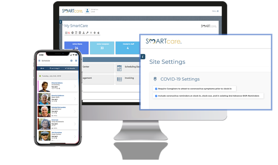 Covid-19 Toolset Smartcare Software