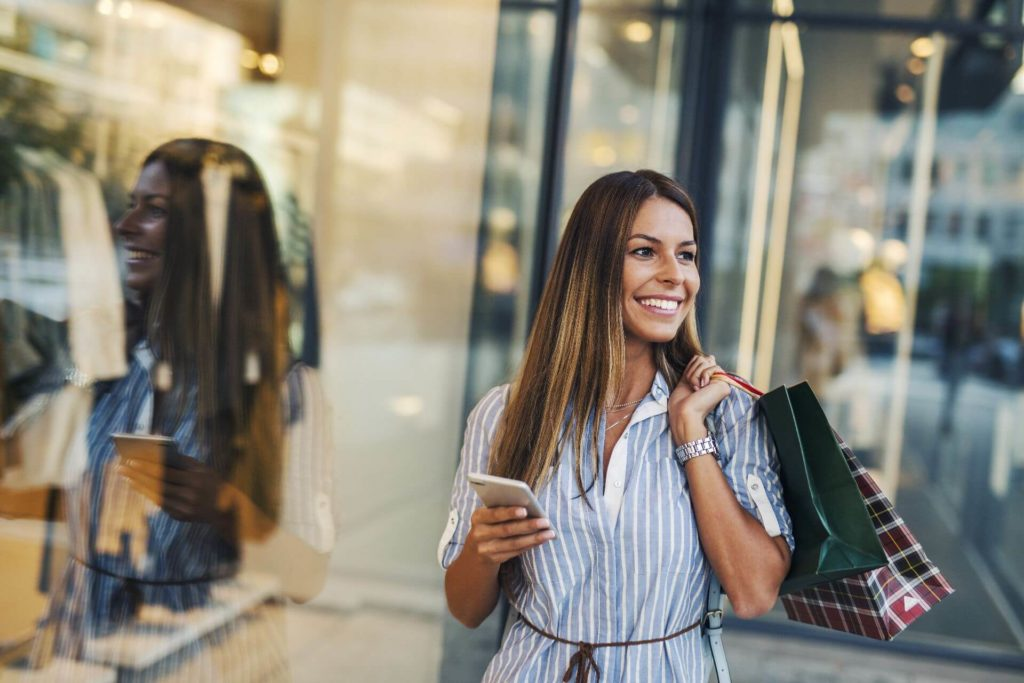 Take the phones with you when shopping with seniors
