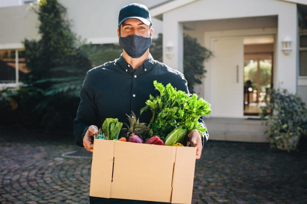 Try to get things delivered to your house when shopping with seniors